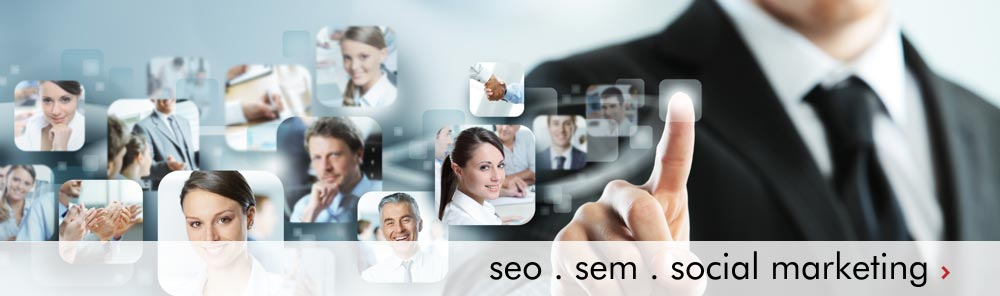 seo sem social marketing